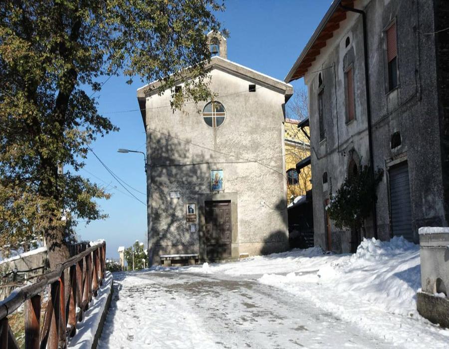 Cappella di Santa Lucia, Monte Cicerale (SA)