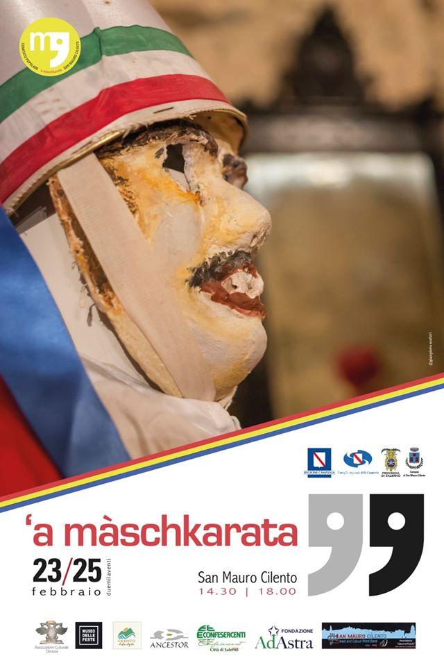 Locandina Carnevale 2020 - San Mauro Cilento