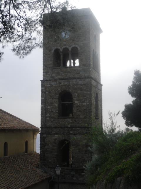 castellabate: il campanile