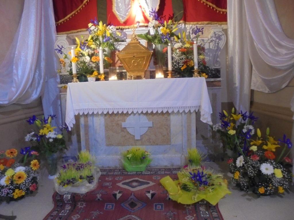 Giovedì Santo, Altare della Reposizione