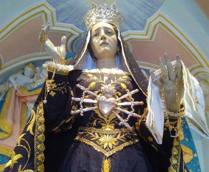 San Mauro Cilento, la 'Madonna Addolorata' e il 'miracolo della pioggia': una storia di grande devozione