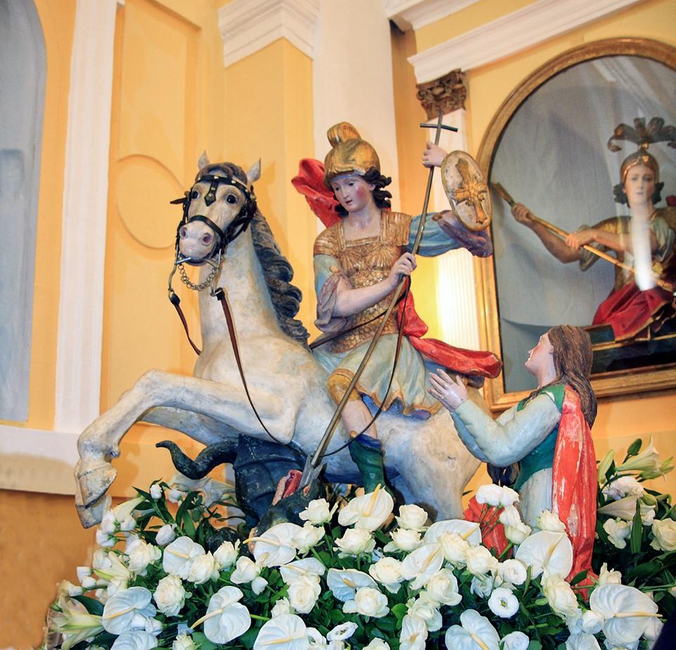 Cicerale, la festa di San Giorgio tra passato e presente