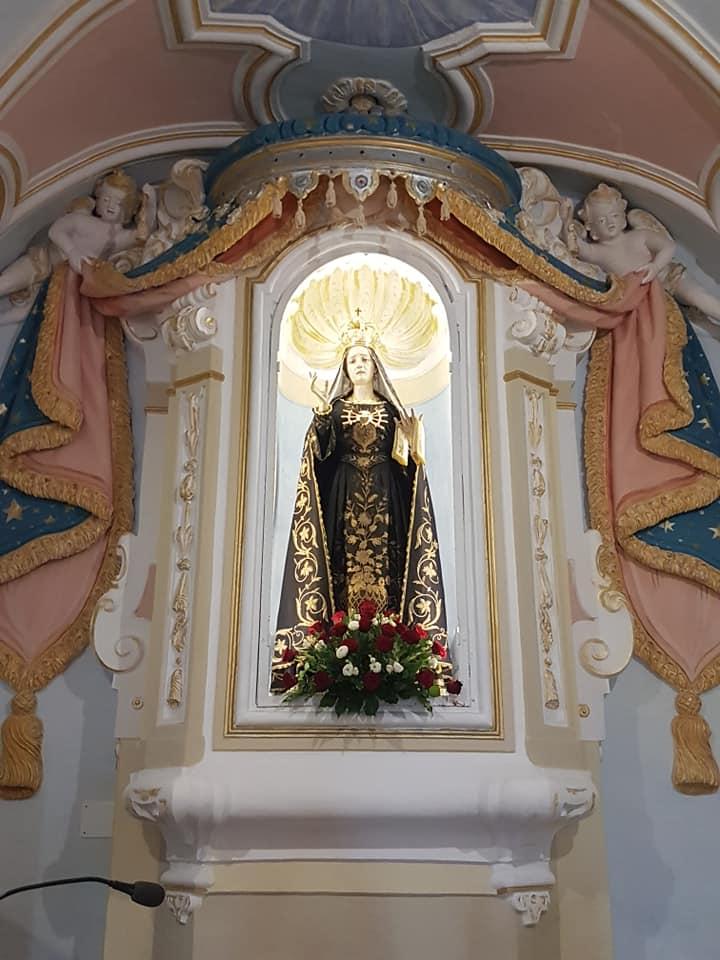 Madonna Addolorata, San Mauro Cilento