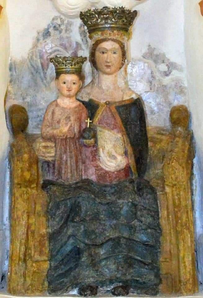 La Madonnadel Principio, Mandia