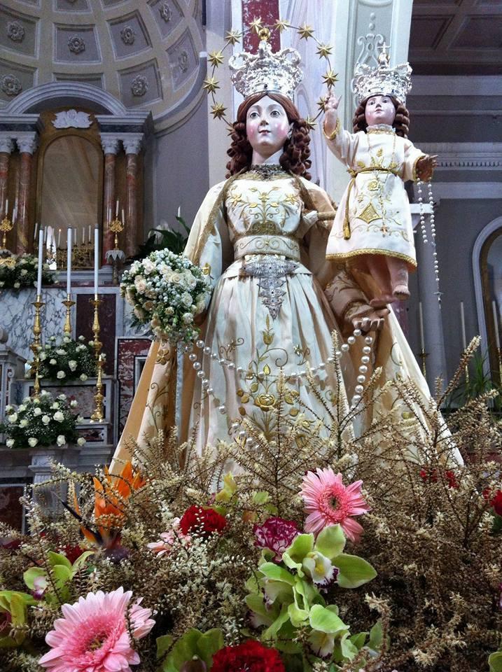 Perdifumo, la Madonna del Rosario