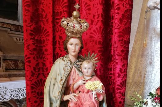 Sant'Angelo a Fasanella, la Madonna della Pinna