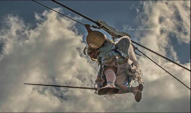 Rutino, il 'Volo dell'Angelo': un duello nei cieli