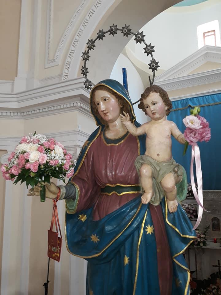 Madonna del Carmine, Agnone Cilento
