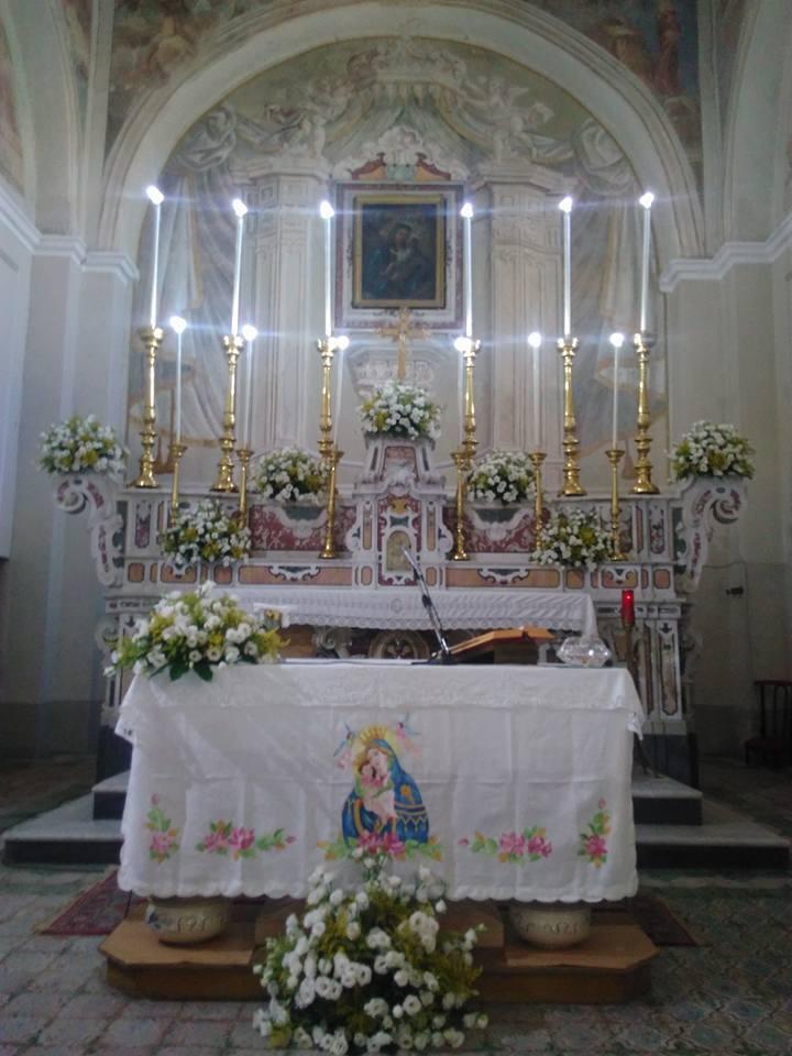Mercato Cilento, interno della chiesa