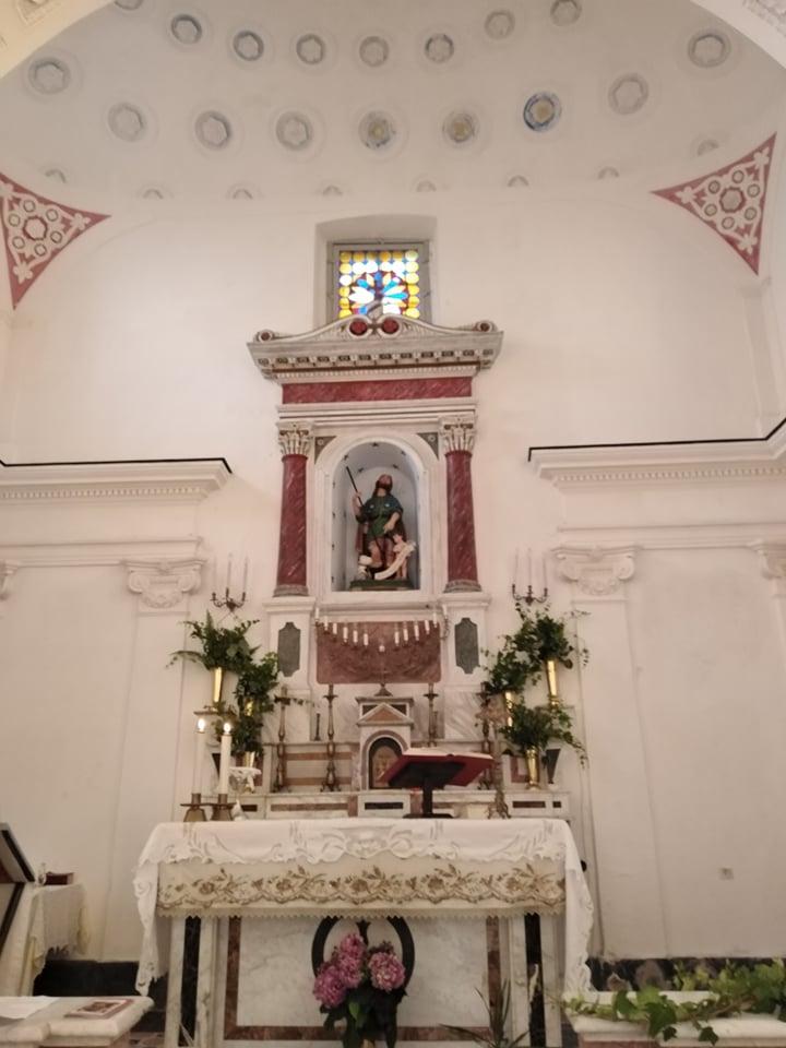 Perdifumo, interno della cappella di San Rocco