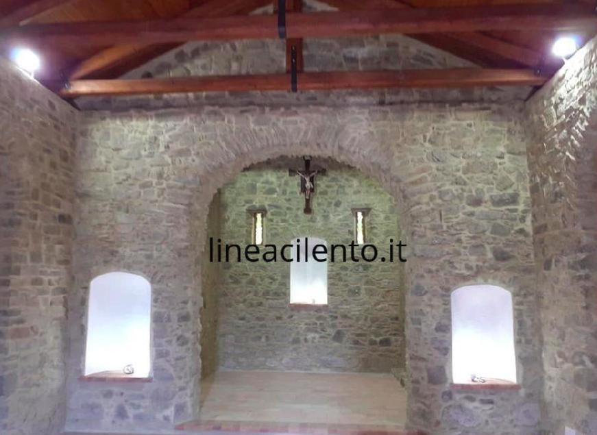 Perito, riapre al culto l'antica Chiesa di Santa Caterina