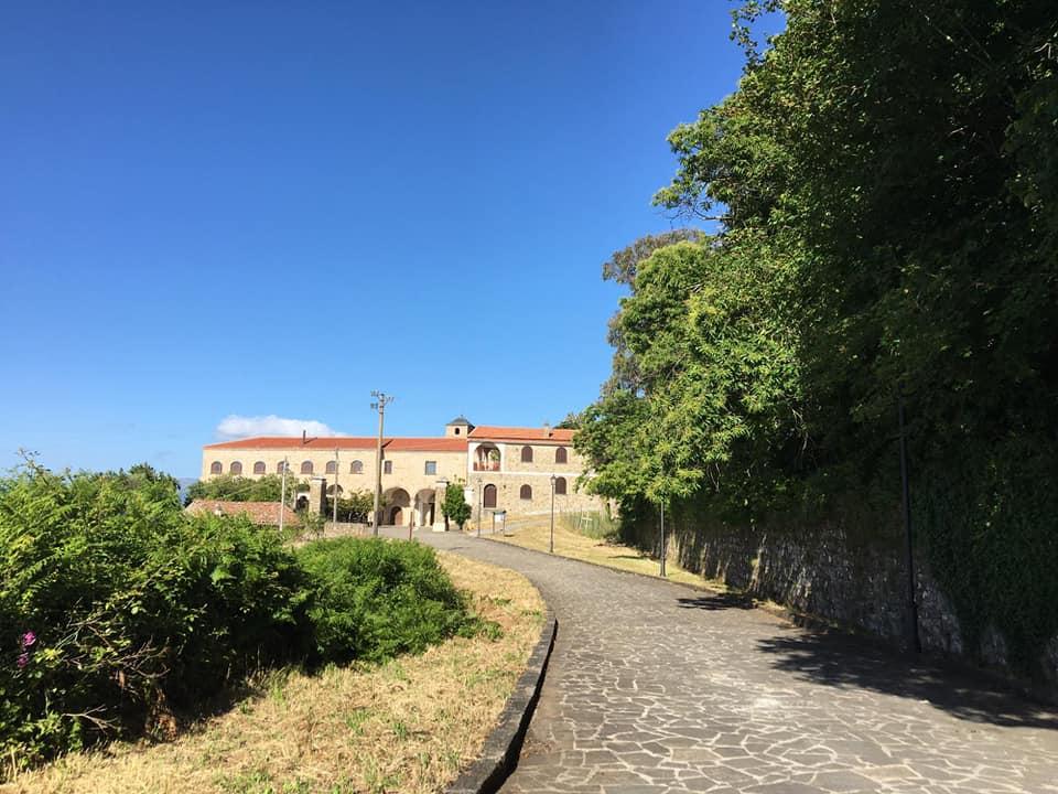 Lustra, il convento francescano