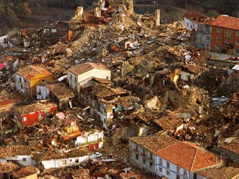 Era il 23 novembre 1980… sono passati 40 anni dal terremoto dell'Irpinia